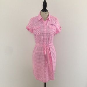New Vineyard Vines Marigot  Harbor Shirt Dress